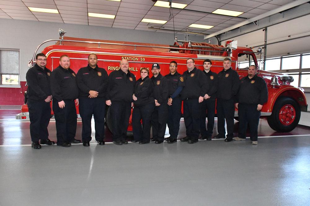 Fire Company volunteers